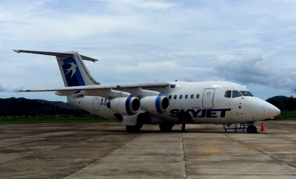 Vuelo con Sky Jet en Filipinas