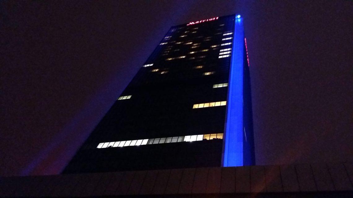 bar rascacielos en varsovia