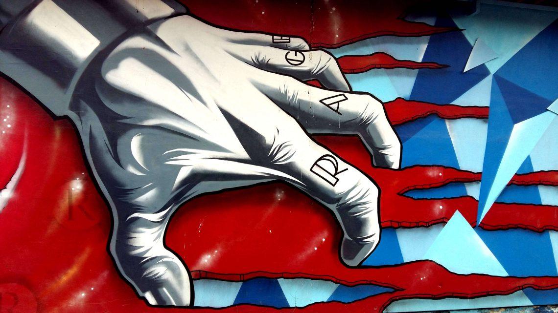 graffiti varsovia