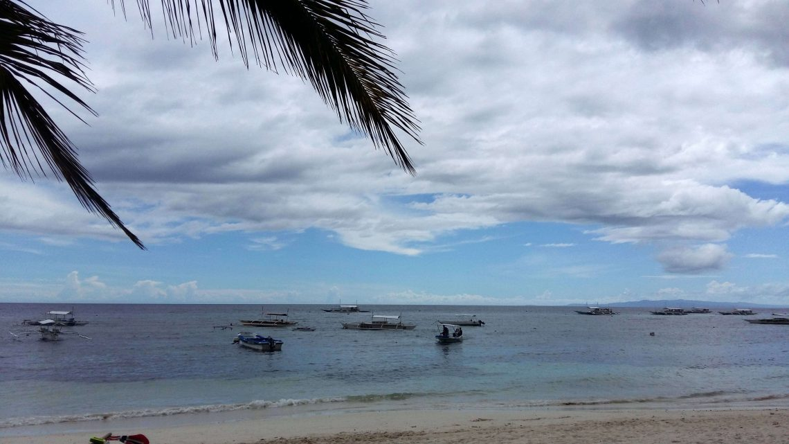 Alona Beach en Bohol