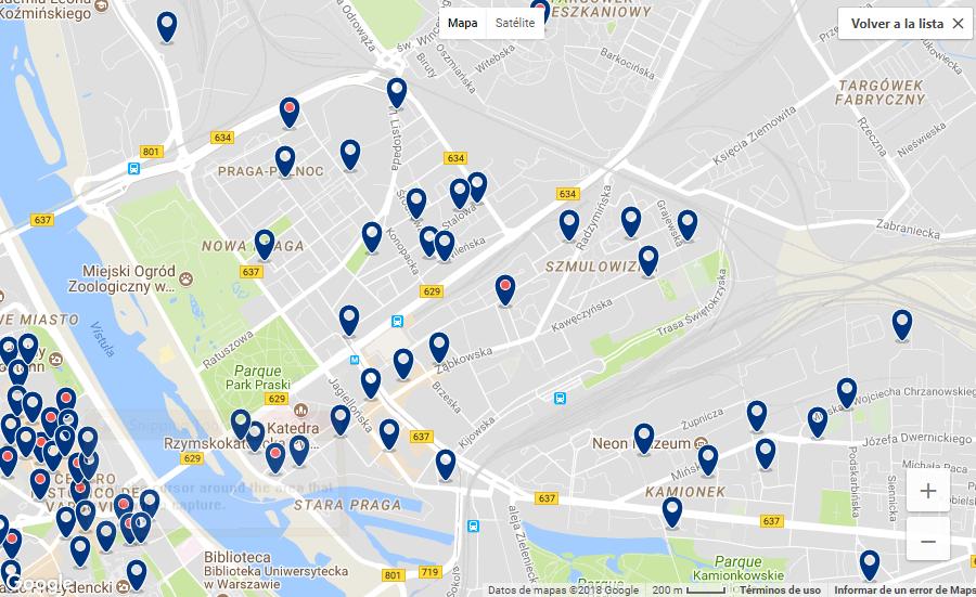 hoteles recomendados en varsovia