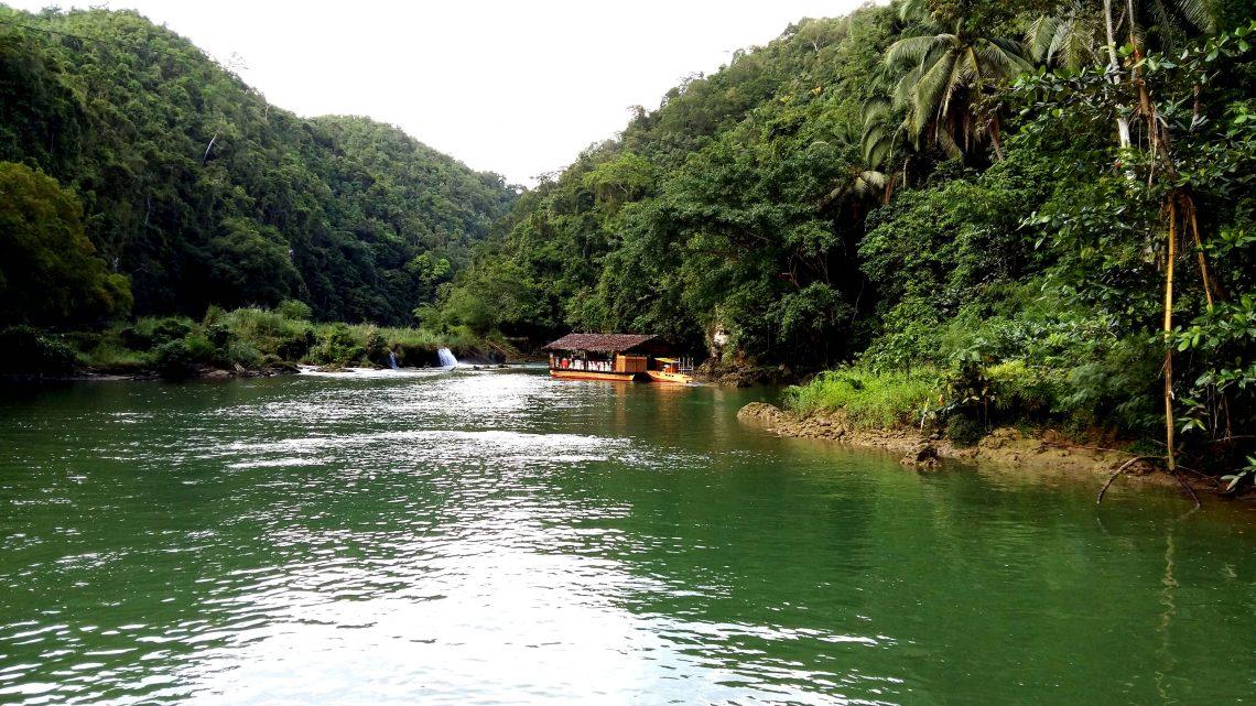 Paseo por el río Loboc