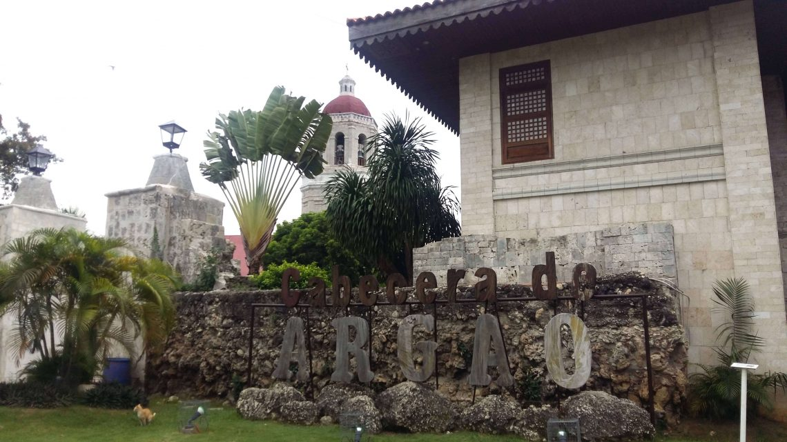 cabecera de argao en la provincia de cebu