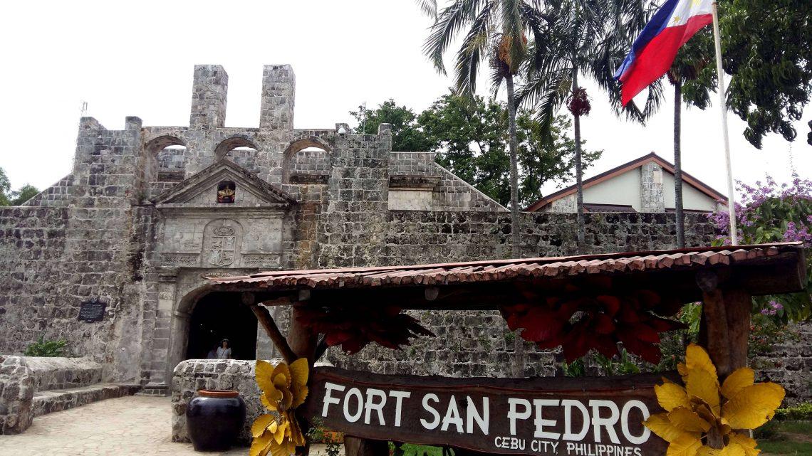 fort san pedro cebu filipinas