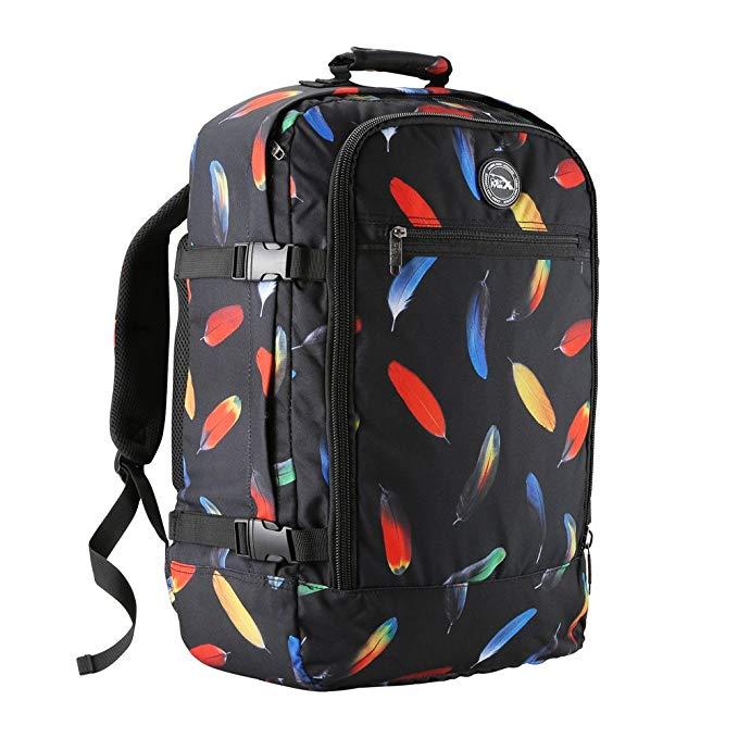 maleta mochila estampada