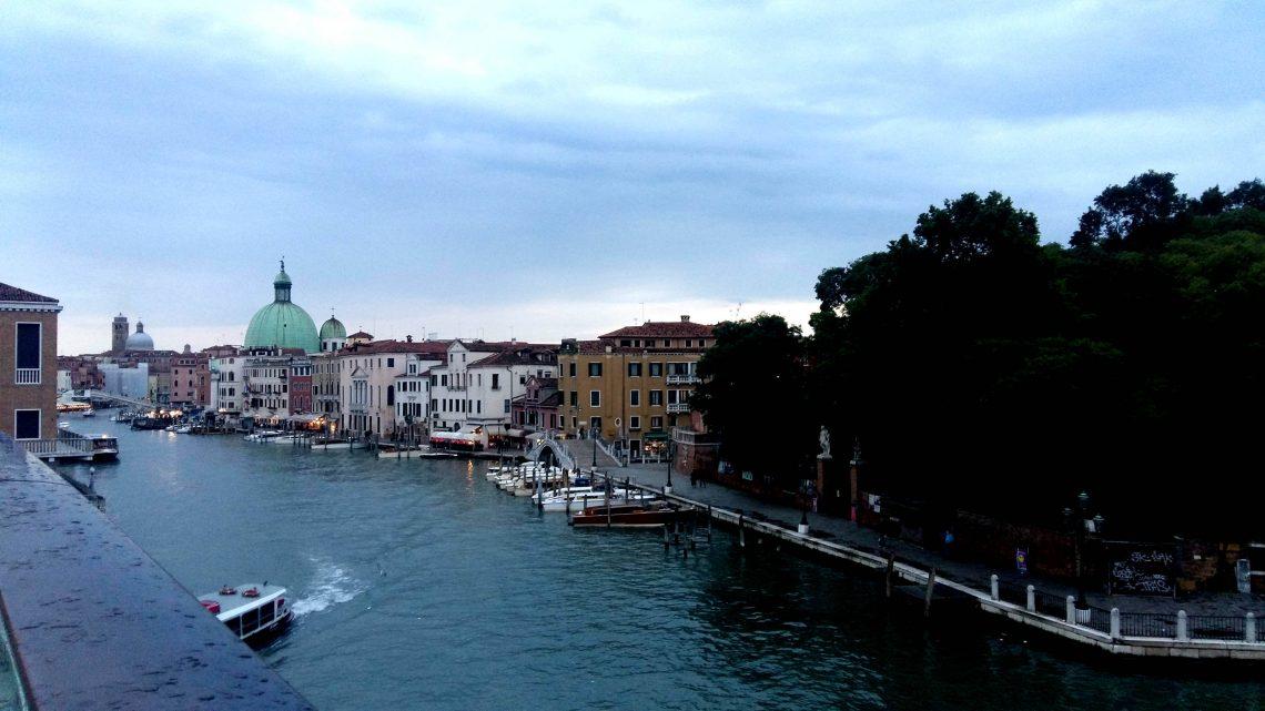 santa croce Venecia puente calatrava
