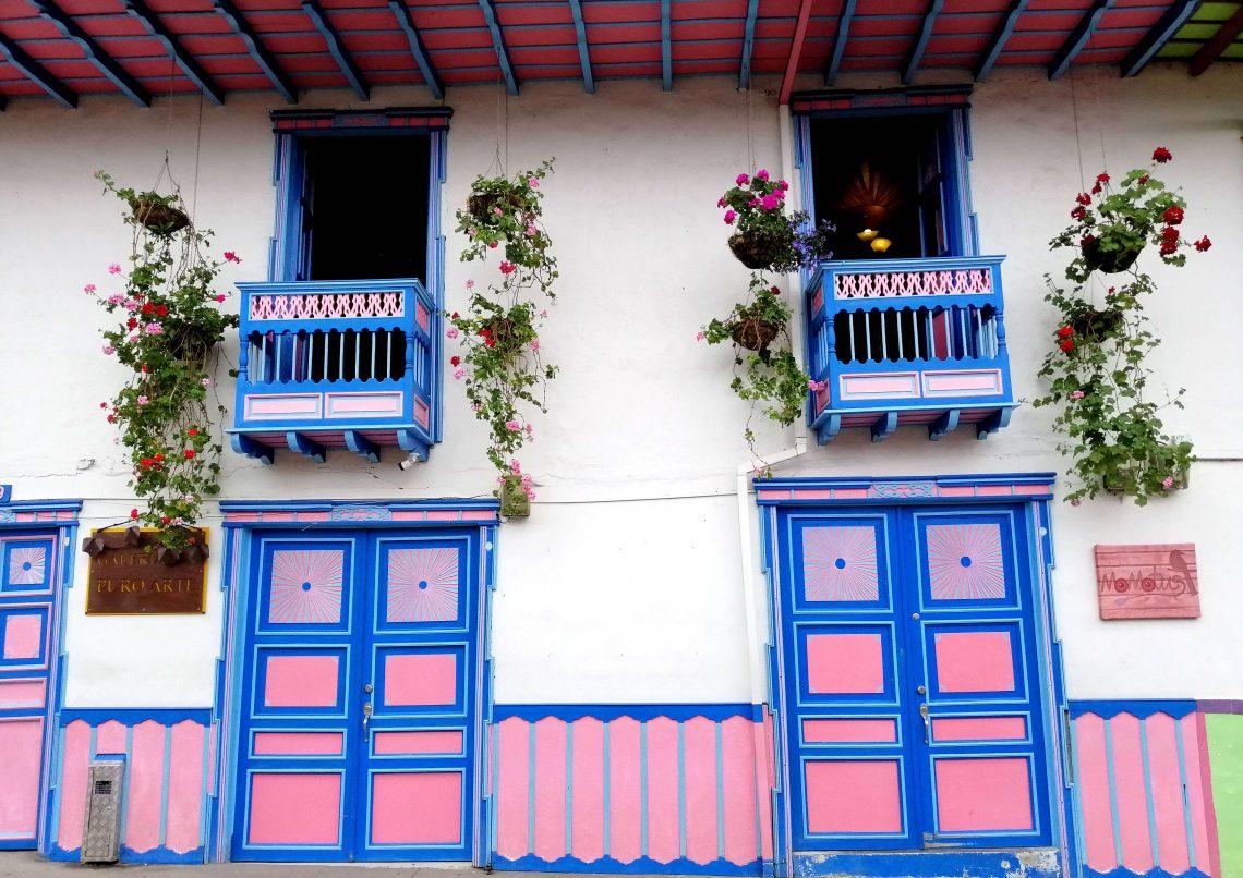 Salento y pueblos del eje cafetero de colombia
