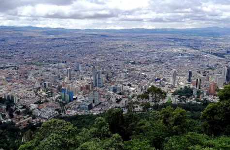 Bogotá Colombia desde cerro de Monserrate