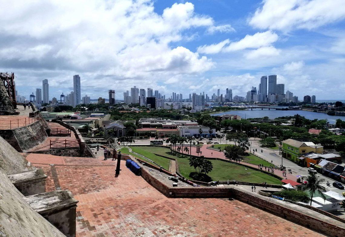 cartagena de indias colombia desde castillo