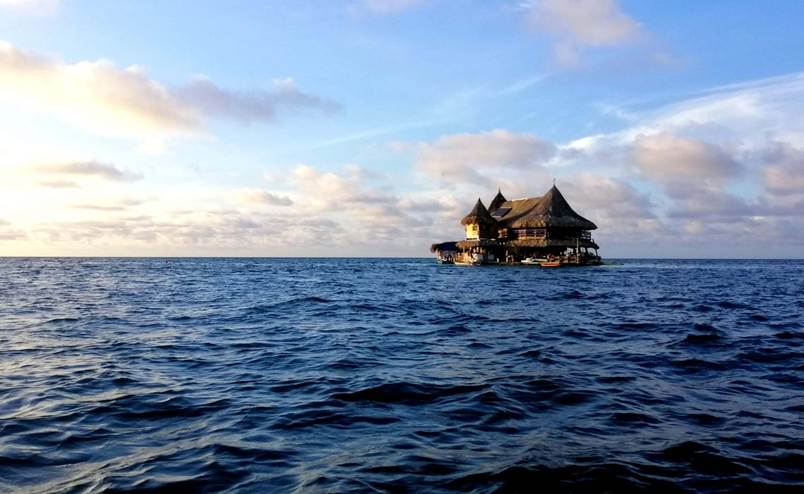 casa en agua caribe colombia
