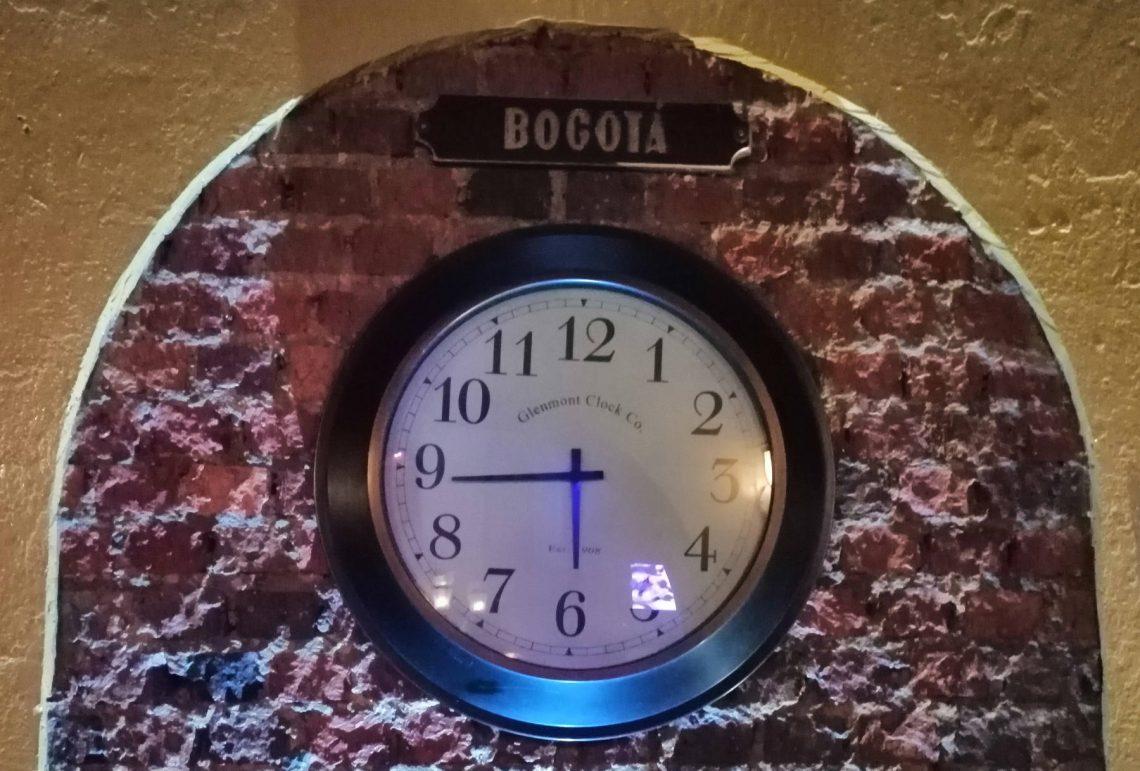 Hora en Bogotá
