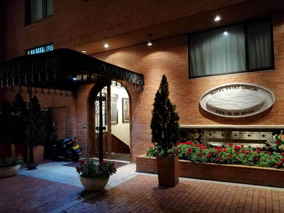 hotel saint simon zona rosa bogota