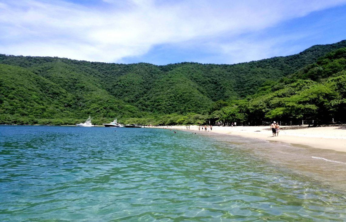 playas de colombia en tayrona