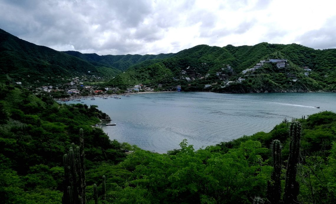 taganga playas de colombia