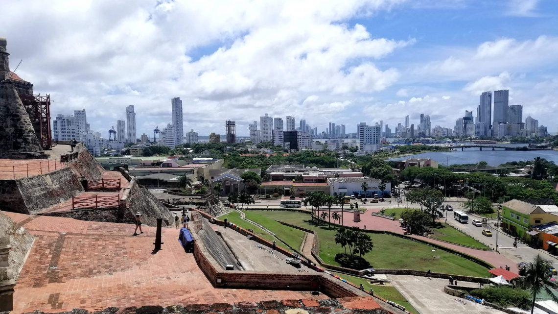 cartagena de indias colombia vista