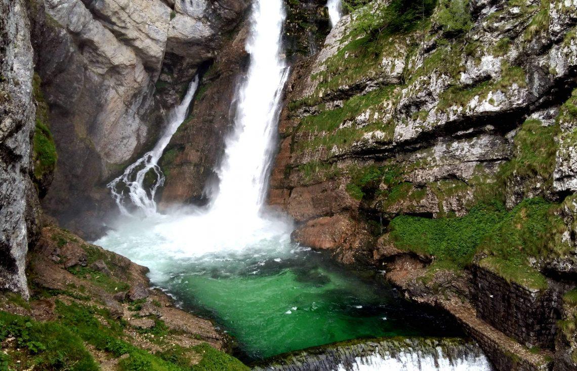 cascadas savica eslovenia