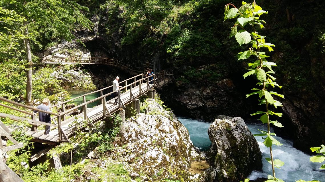 excursion garganta vintgar eslovenia