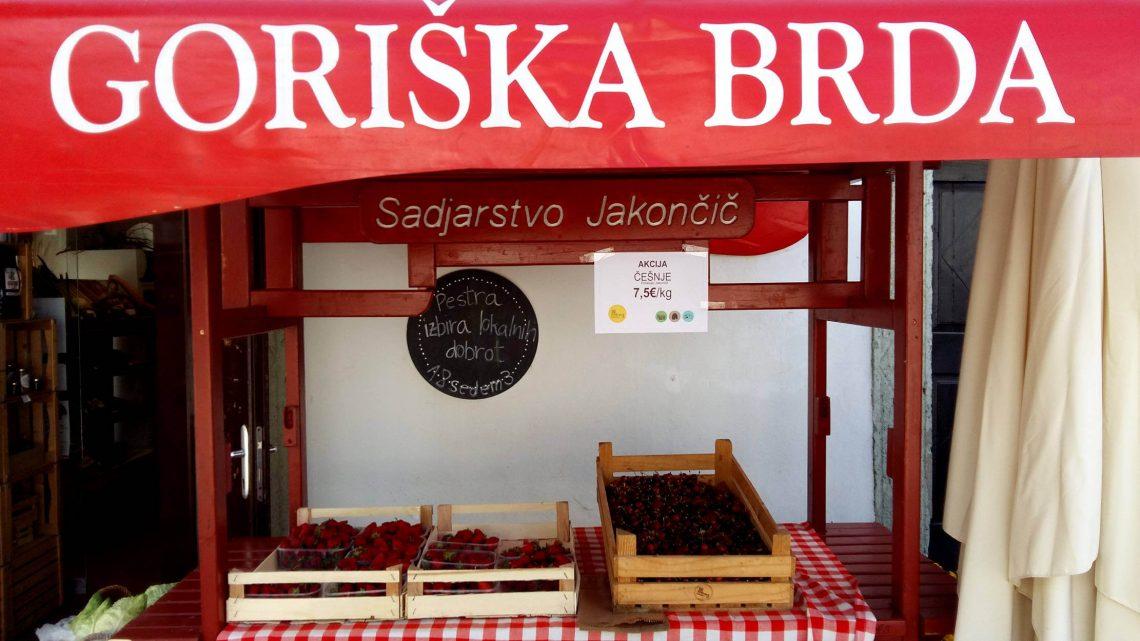 fresas en eslovenia bled