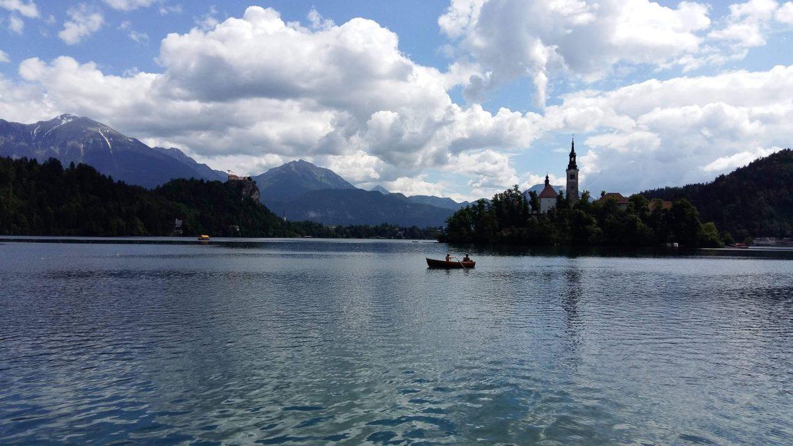 lago bled eslovenia isla
