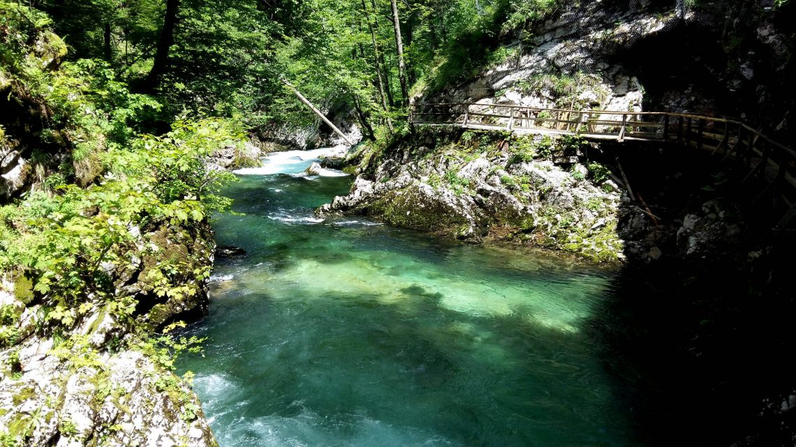 Garganta de Vintgar, Eslovenia