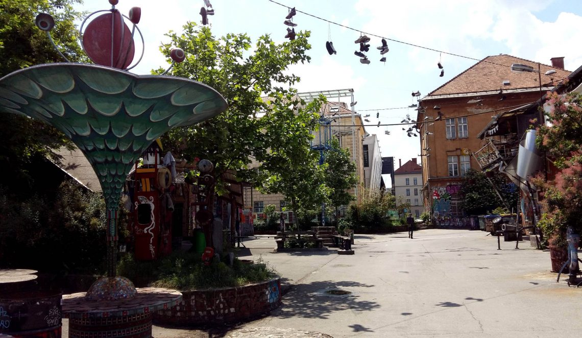 metelkova liubliana barrio alternativo