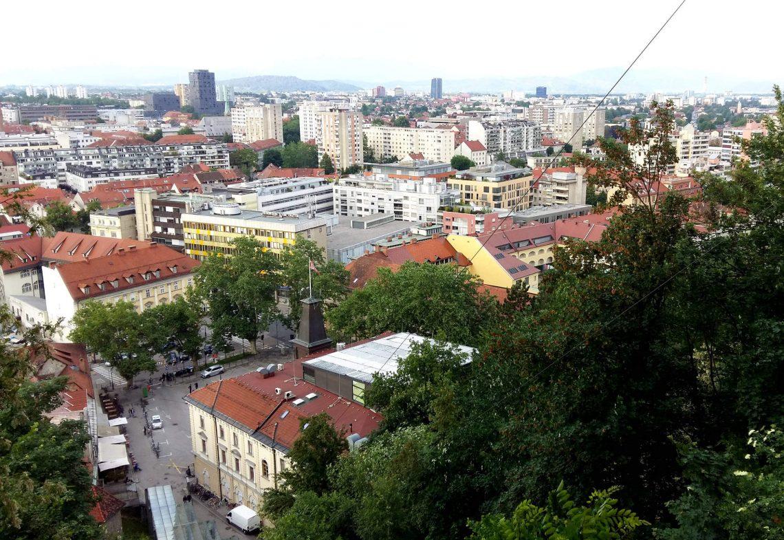 mirador liubliana eslovenia ciudad