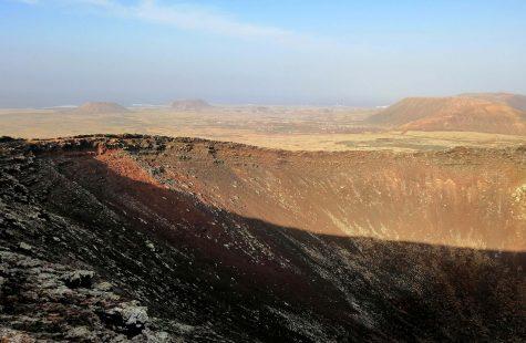 Calderón Hondo, volcán Fuerteventura que ver