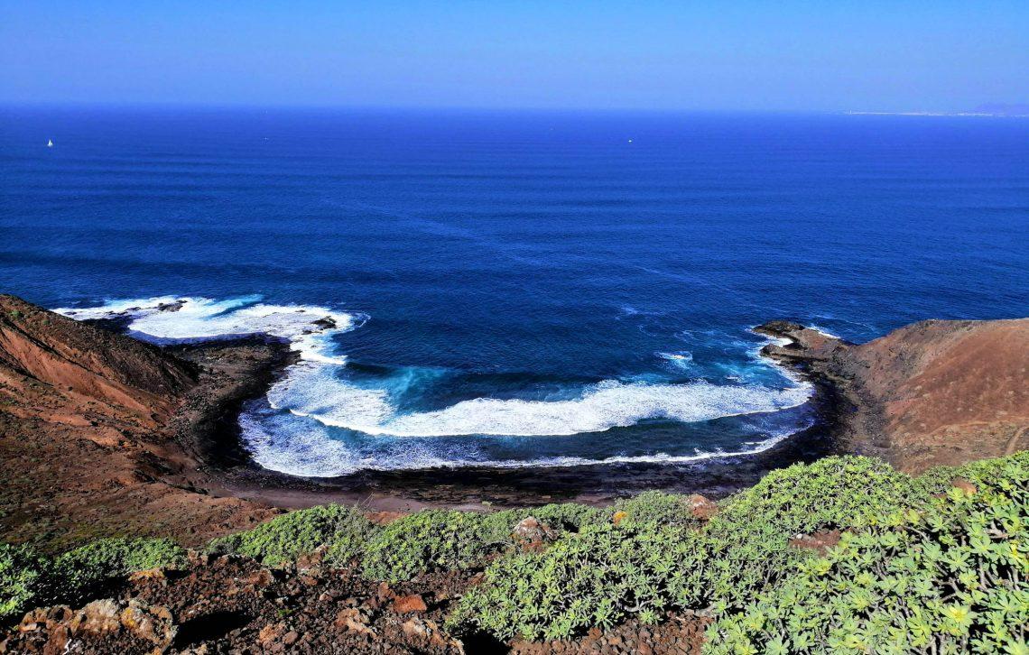 Vistas Isla de Lobos Fuerteventura
