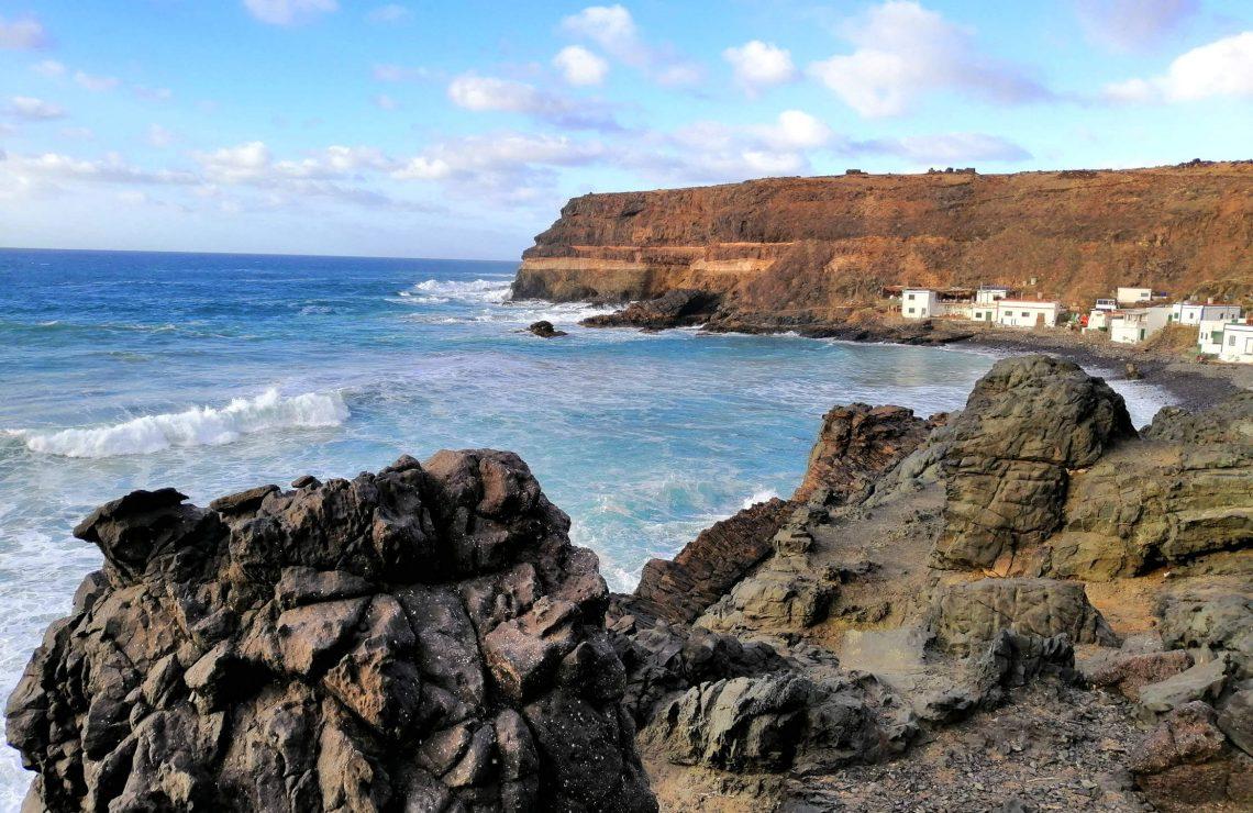 Los Molinos, Fuerteventura que ver con mapa.
