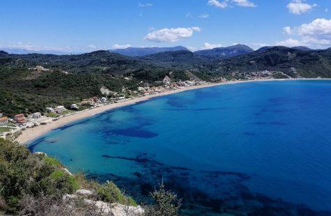 agios georgios playa en corfu