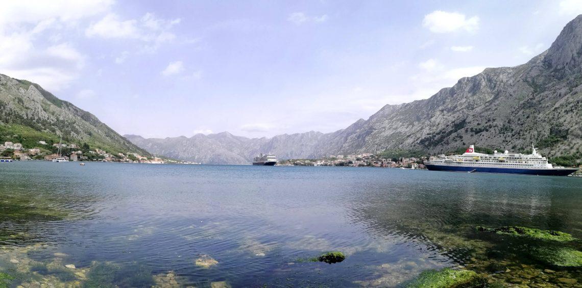 Vistas de la bahía.