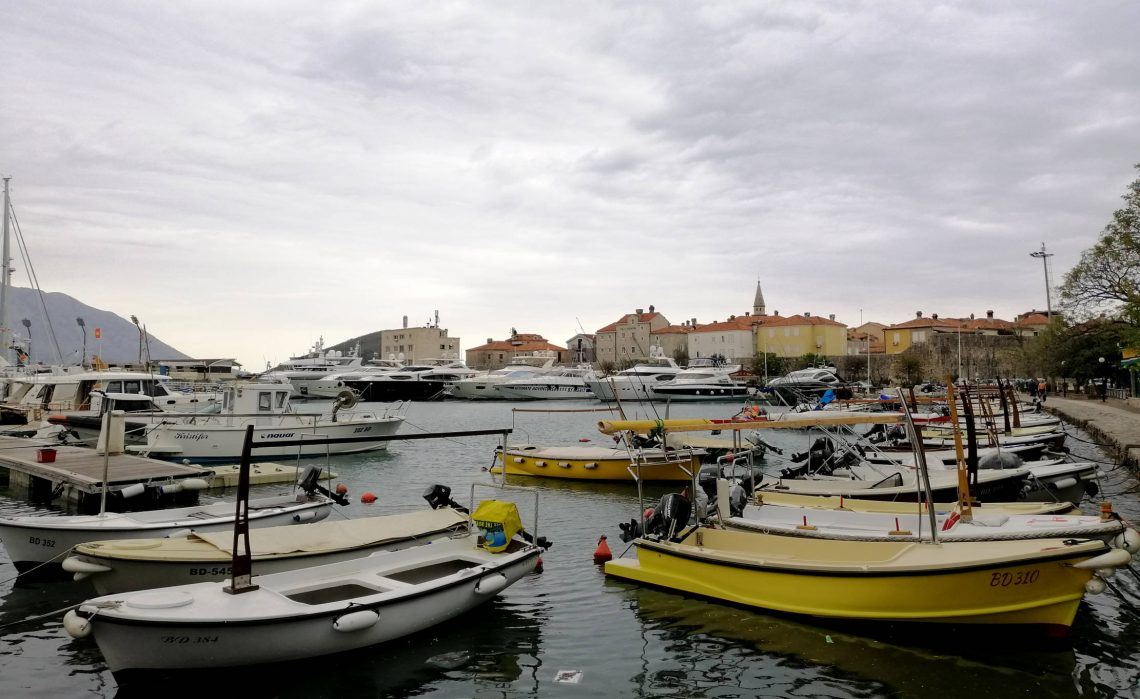Budva, viajar a montenegro