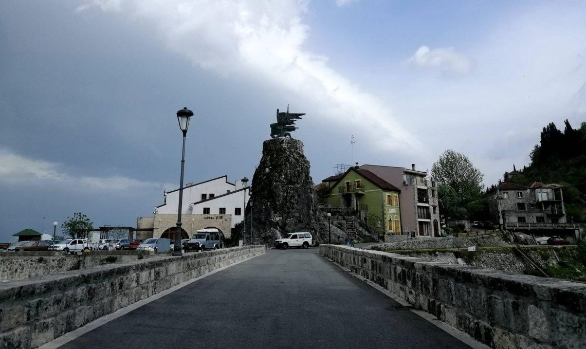 Virpazar, entrada al parque nacional