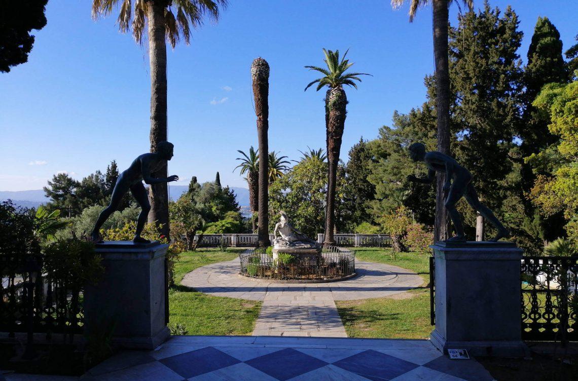 Palacio de Sissi a Aquiles