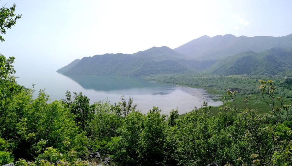 vistas del lago Skadar