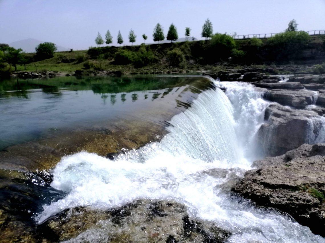 cascadas cerca de podgorica