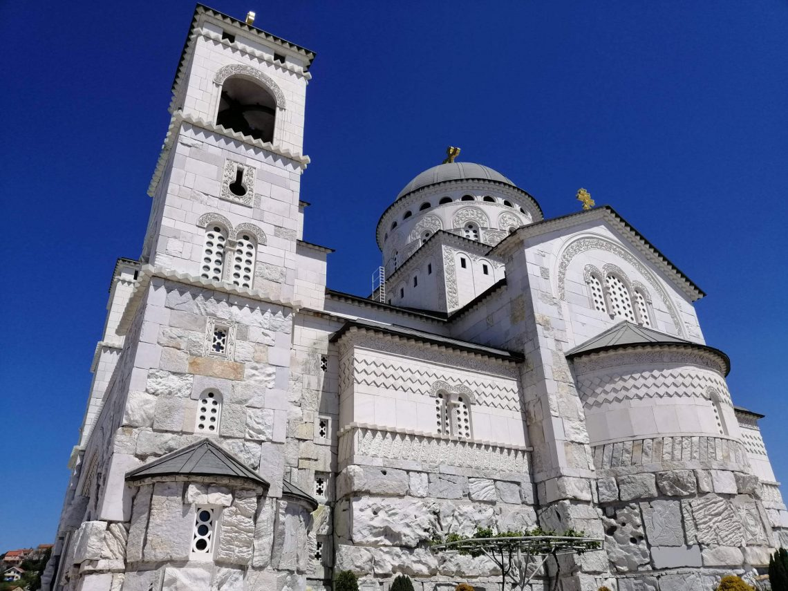 catedral ortodoxa de podgorica