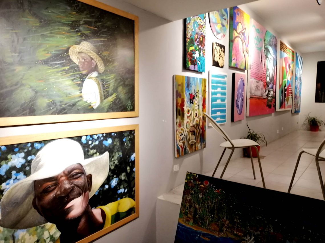 Galería de arte en El Poblado.
