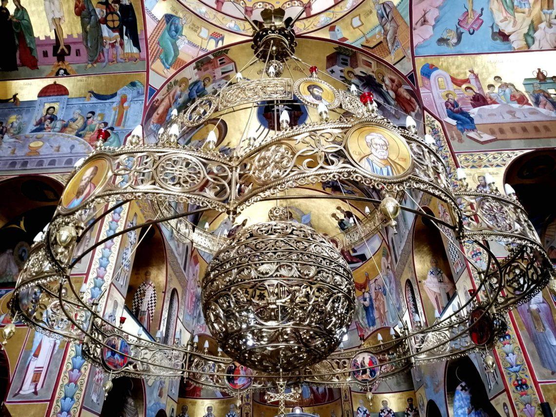 interior catedral ortodoxa podgorica