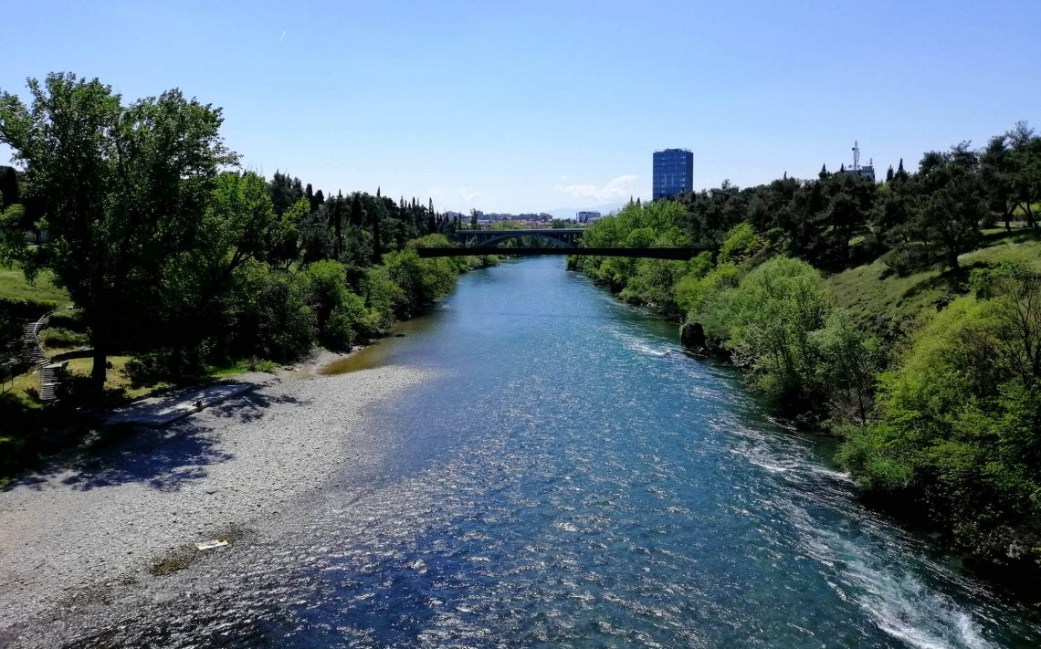 playa fluvial podgorica