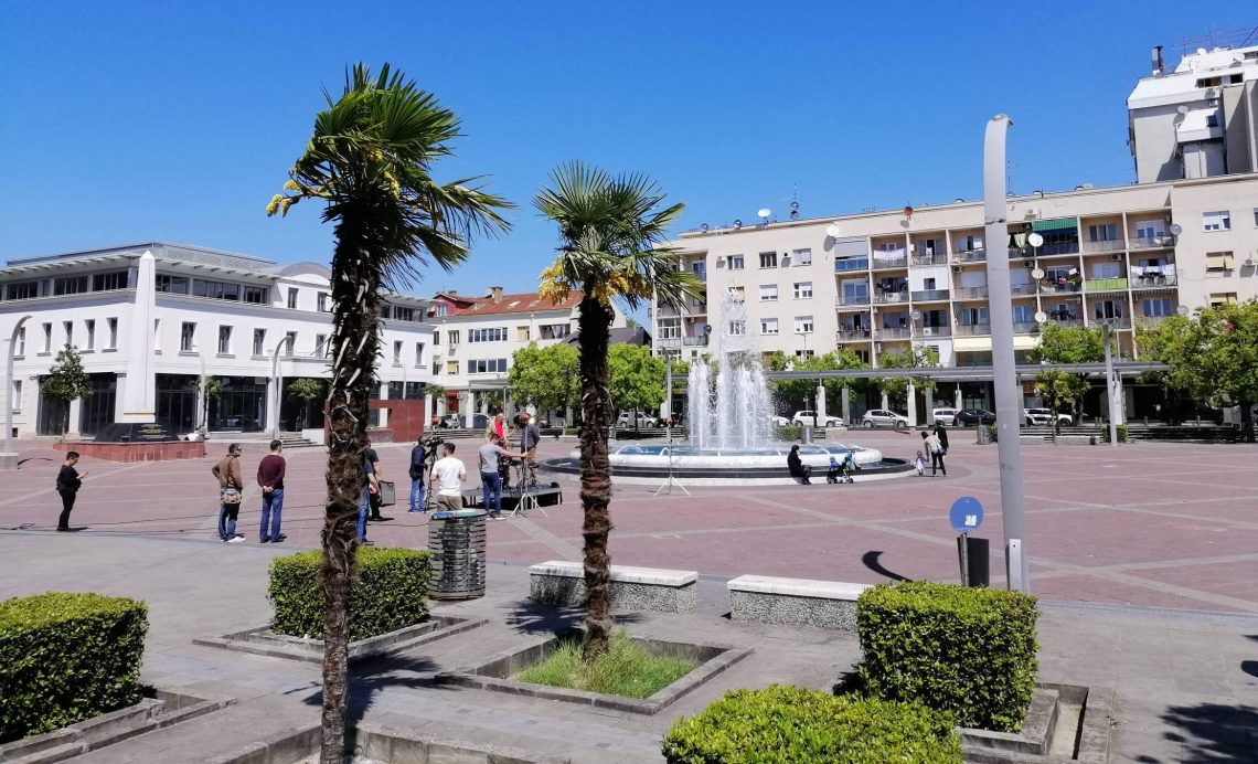 plaza de la república podgorica