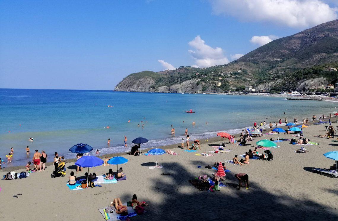 playas en Levanto