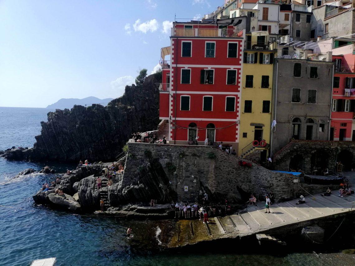 Fachadas de colores en Riomaggiore
