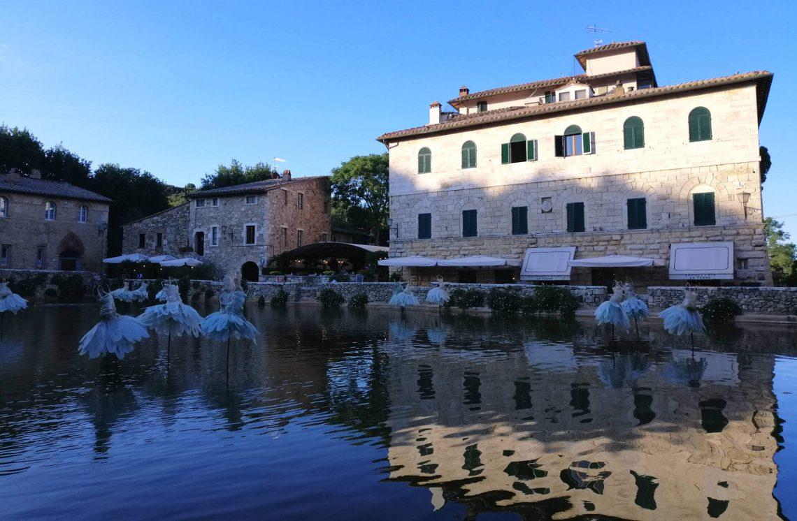 Bagno Vignoni, Toscana.