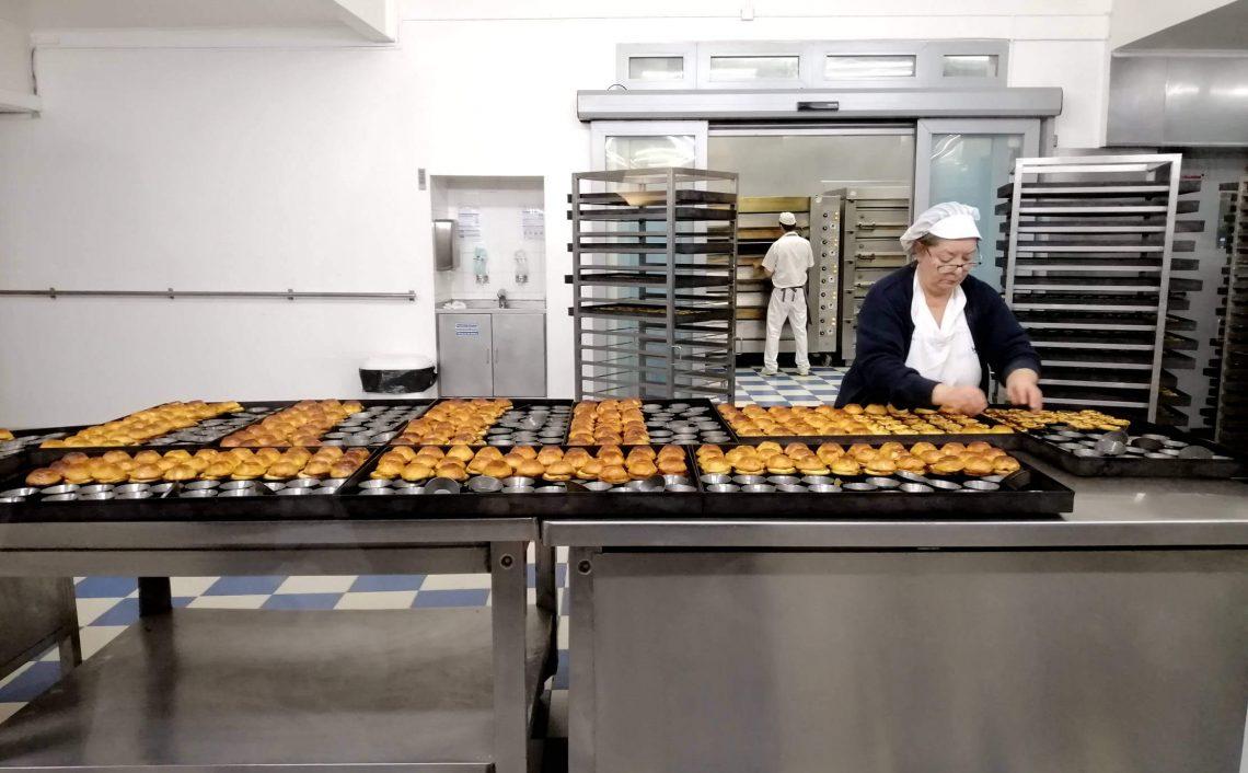 Fábrica de pasteles de Belém.