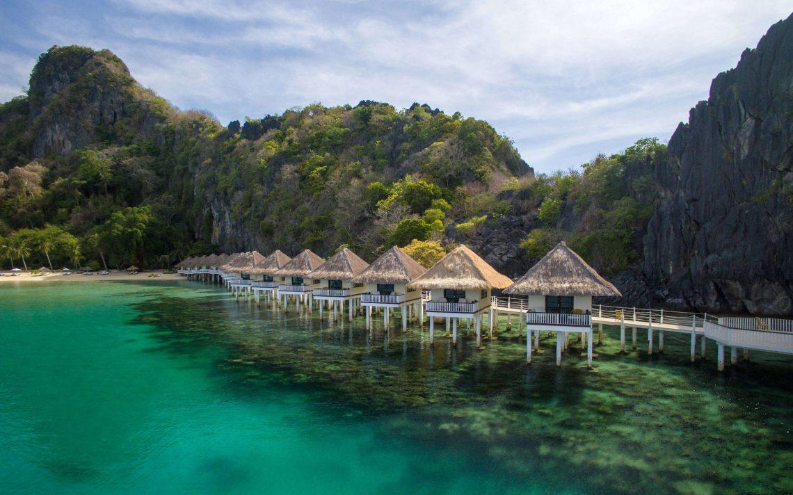 hoteles de lujo en filipinas palawan