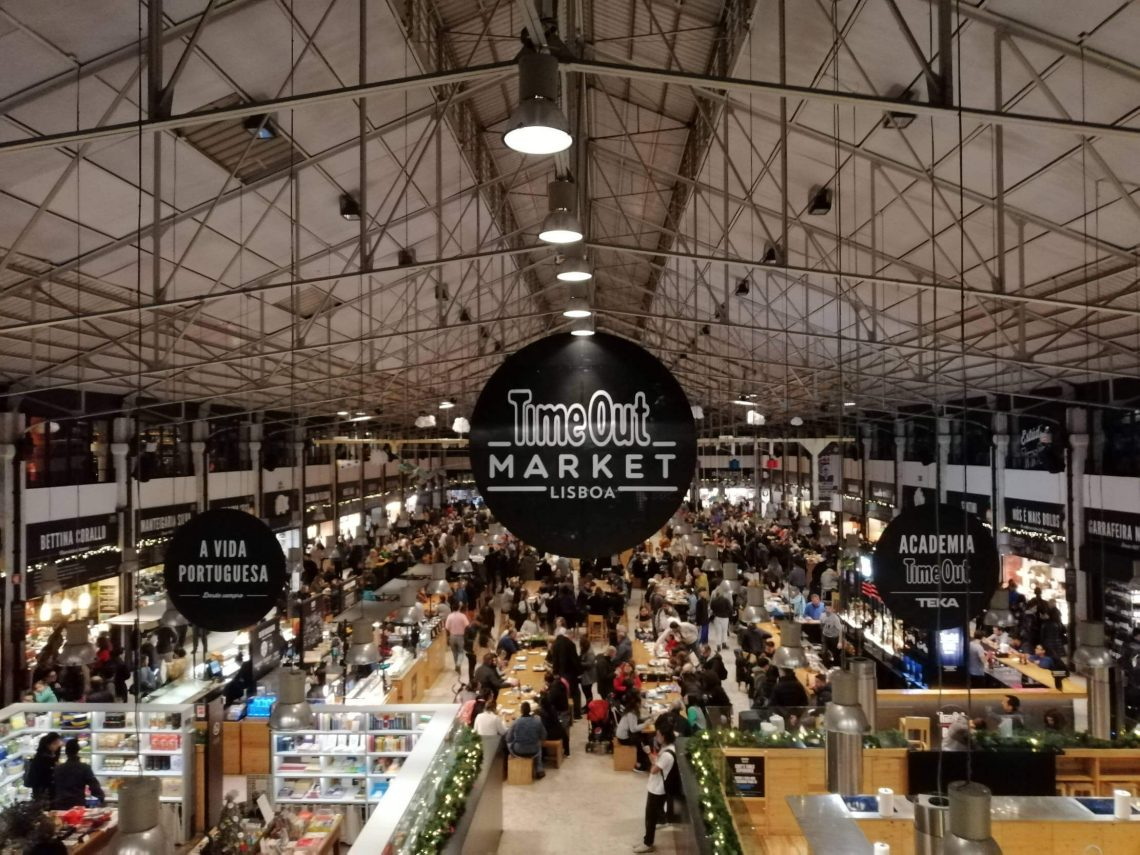 Time Out Market Lisboa.