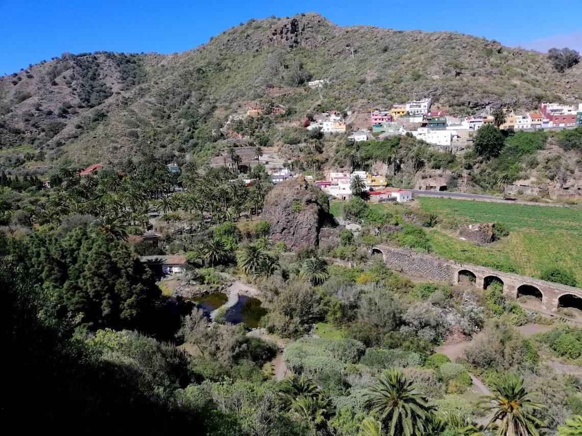 Jardín Botánico, cerca de Las Palmas.