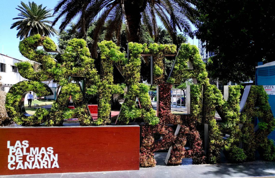 Parque de Santa Catalina en Las Palmas.
