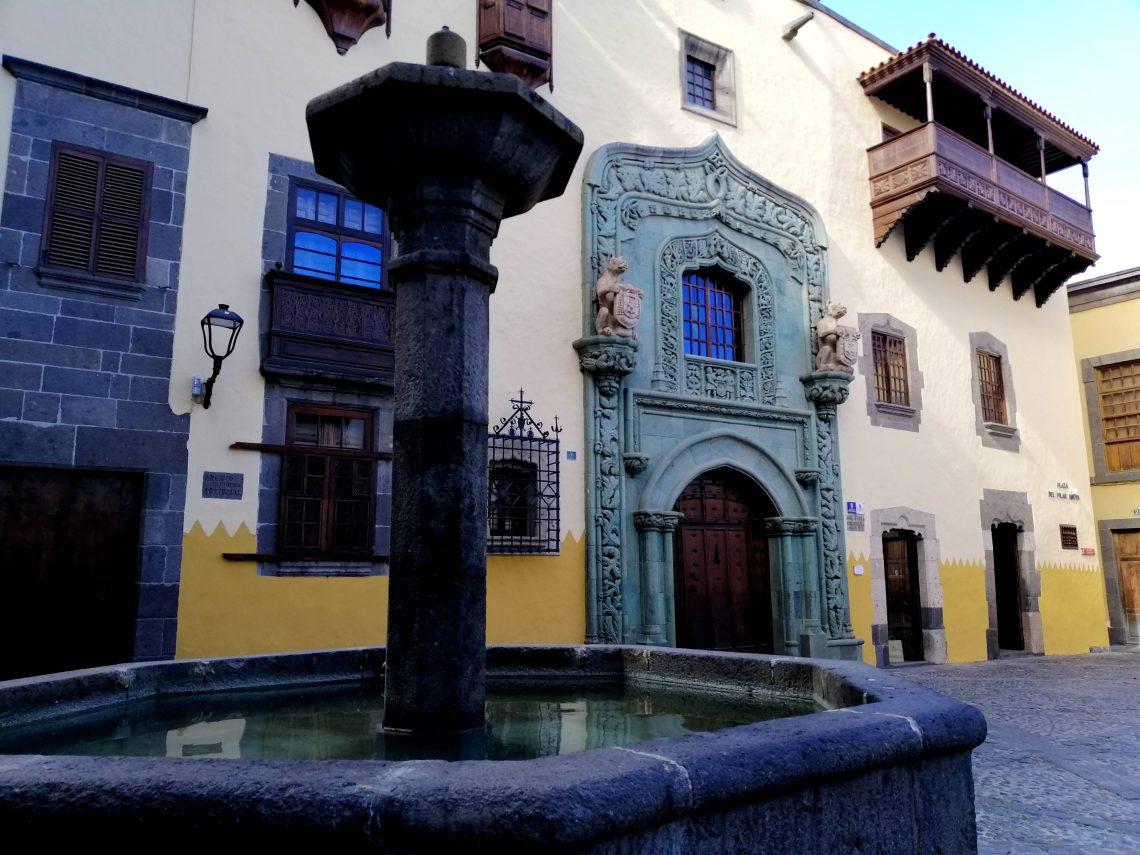 Museo Casa Colón, en Las Palmas.
